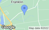 Map of Franklin, NJ